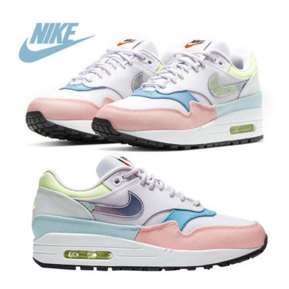 Nike Womens Air Max 1 Pastel Multi Size 7